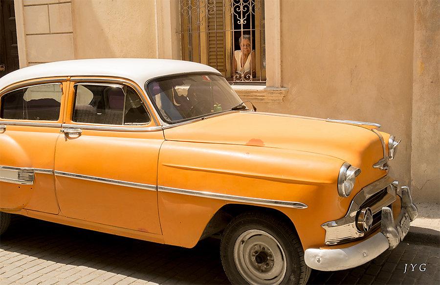 Jean-Yves - La dame et l'auto