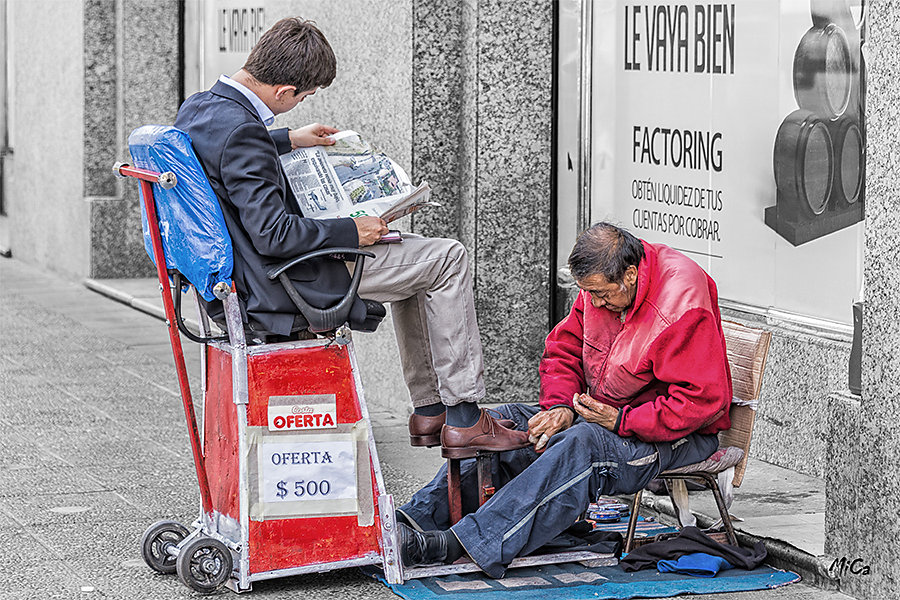 Michel C. - Petit métier de rue
